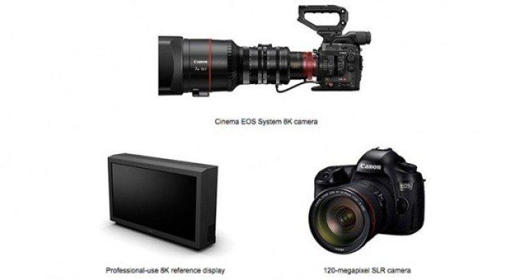 Canon Mengembangkan Kamera DSLR 120MP, Camcoder Video 8K Dan Monitor 8K