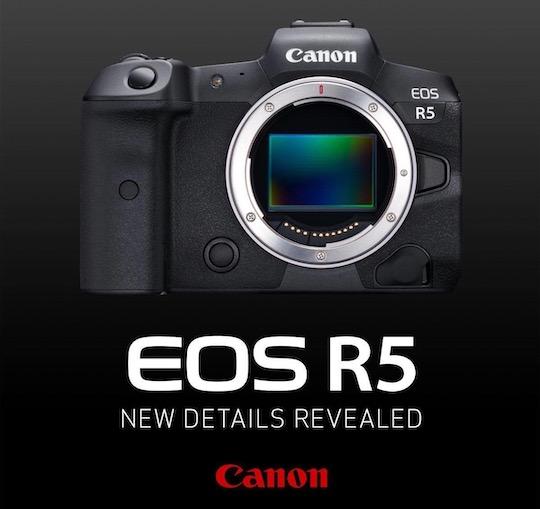 Rumor Kamera Mirrorless Canon EOS R5 Full Frame