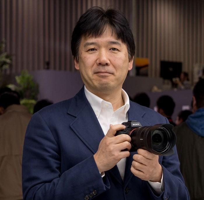 Kenji Tanaka, Wakil Presiden Senior dan Manajer Senior Sony Imaging Business (Gambar via Dpreview)