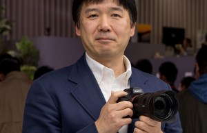 Kenji Tanaka, Wakil Presiden Senior dan Manajer Senior Sony Imaging Business (Gambar via Dpreview)