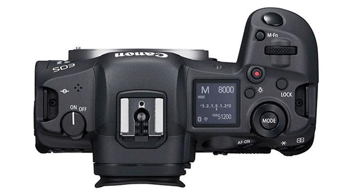 Canon EOS R5 - Atas