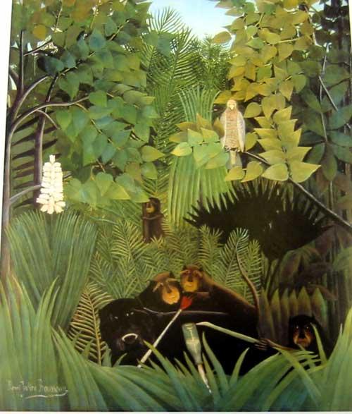 Henri Rousseau Bird Painting