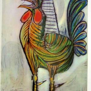 "Picasso Rooster ""Le Coq"""