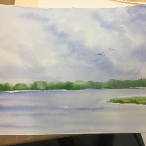Lakefront Watercolor Project With MaryLeah