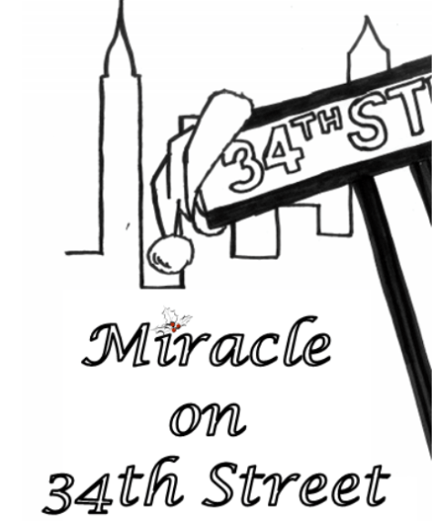 Miracle on 34th St. poster, courtesy of Rumson-Fair Haven Regional High School