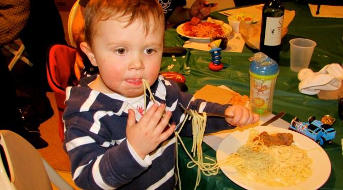 Mangia! Spaghetti Dinner Served!