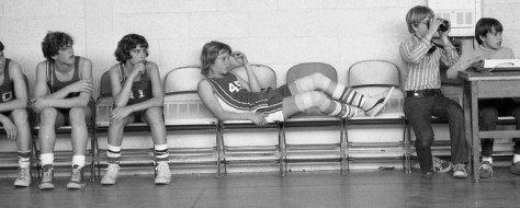 RFH Basketball in the 1970s Photo/George Day