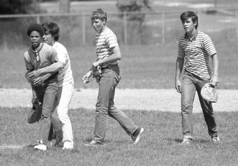 The RFH boys of spring baseball season Photo/George Day