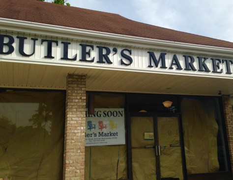 Butler's Market is making a comeback soon Photo/Elaine Van Develde