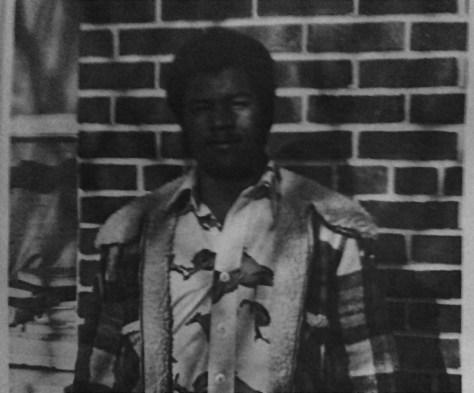 Fair Haven Police Chief Darryl Breckenridge in his 1976 RFH Yearbook photo Photo/RFH Yearbook screenshot