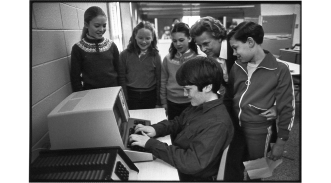 Retro 'Register' School Tech Daze in Rumson