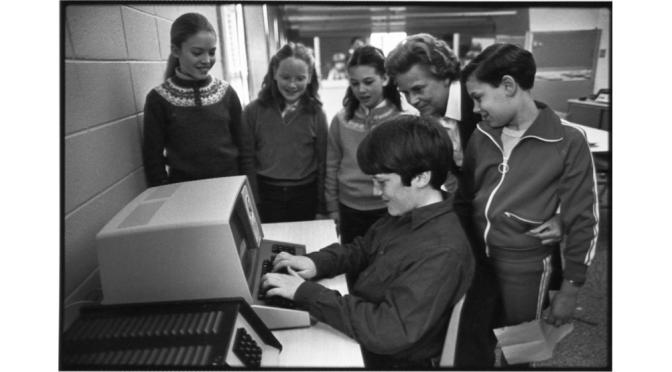 Retro Rumson Schools' Tandy Techies