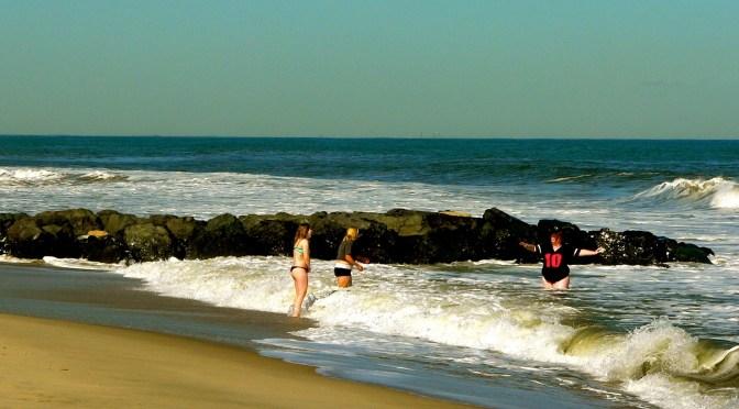 Catching Sun & Dunes on Sea Bright Beach