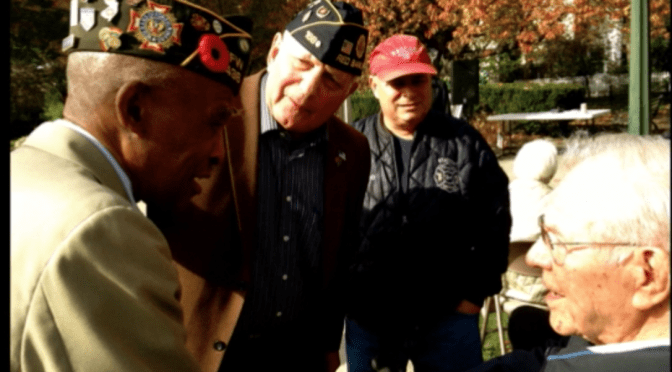 Veterans Day Ceremonies in Rumson, Fair Haven