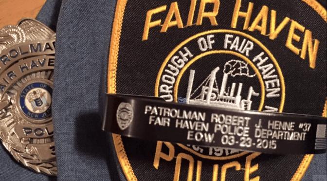Remembering Fair Haven's Patrolman Robert J. Henne