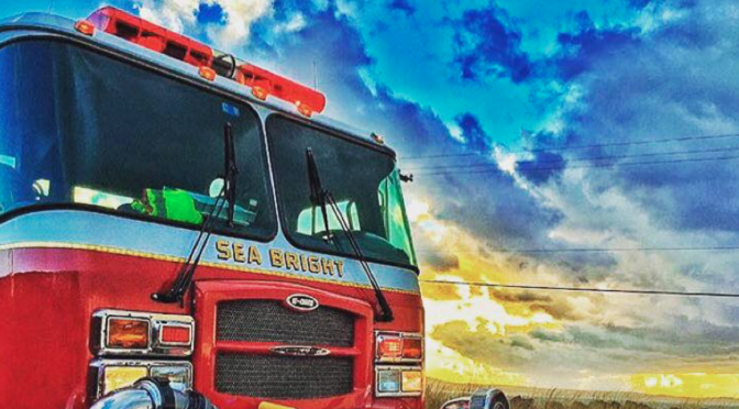 Sea Bright: Cat Gains One of Nine Lives After Fire Rescue