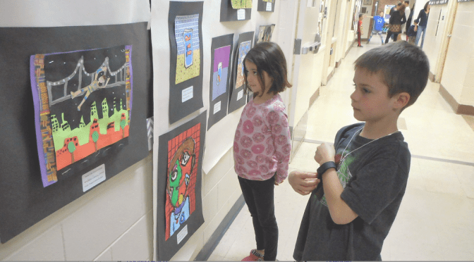 A Showing of Student Art at Deane Porter