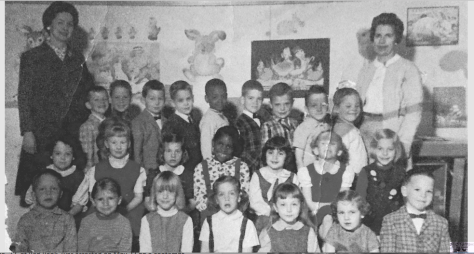 Fair Haven Youth Center kindergarten p.m. 1965-66. Class Photo