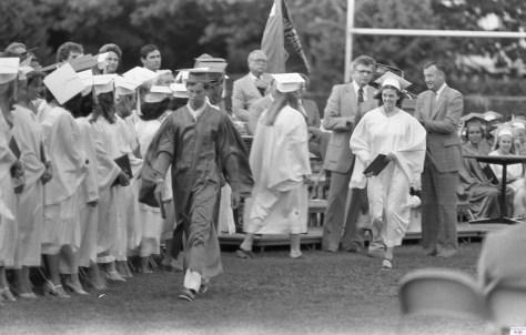 RFH graduation '79 Photo/George Day