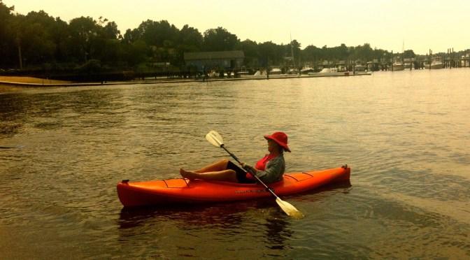 Simple Summer: River Kayaking