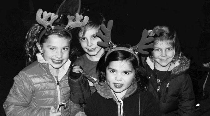 Retro Santa's Reindeer Magic