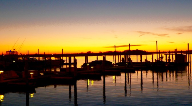 Sunset in Sea Bright