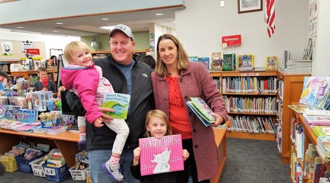 A Glimpse Back at Sickles School's Book Fair
