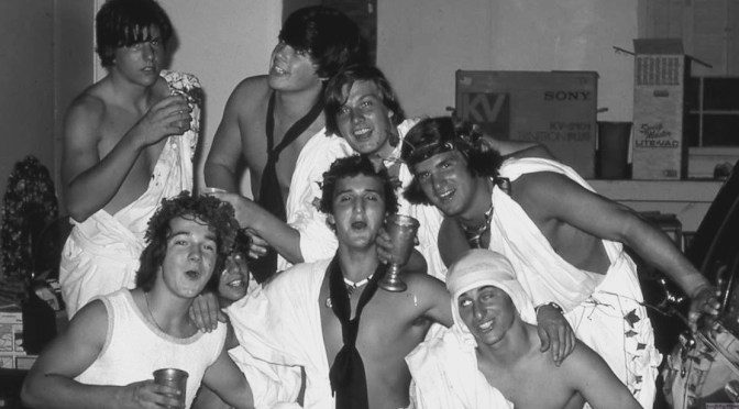 Retro RFH Toga Partying Time