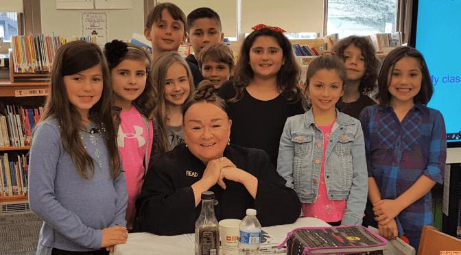 Fair Haven Students' Visit with a Famous Author