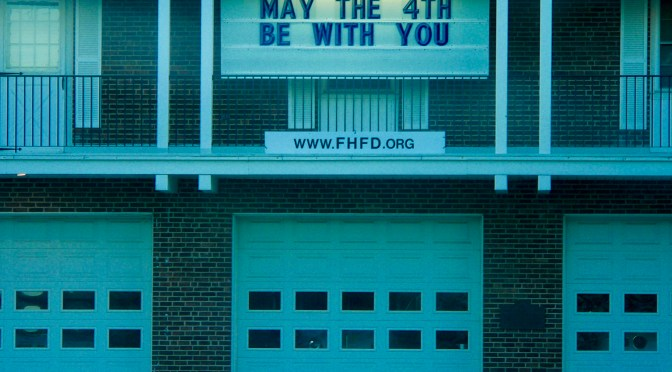 Scene Around: Firehouse Fun on a May Day