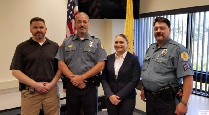 Rumson Police Congratulate One of Their Own