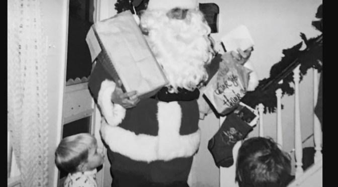Retro Visit from Santa