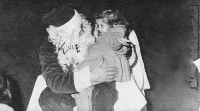 Retro Close Santa Encounter