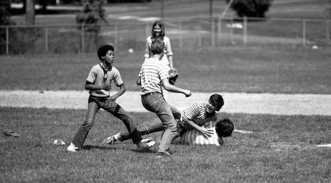 Retro RFH Baseball Tackle Time