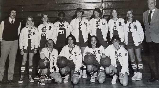 Retro RFH Girls Basketball Slam Dunk