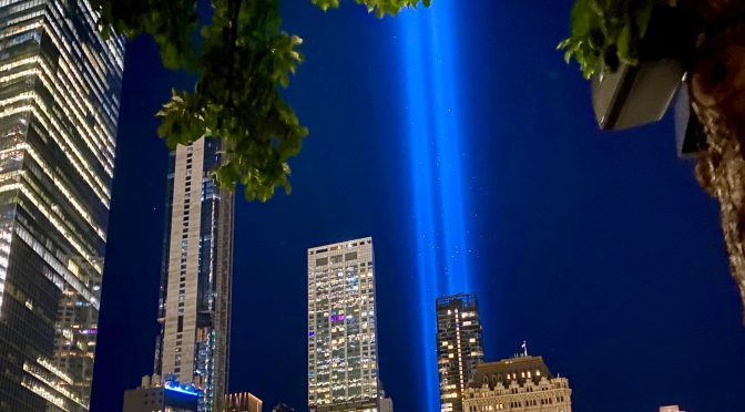 9/11: Day's End Reflection, 20 Years Later