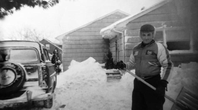 Retro Fair Haven Snow Storming