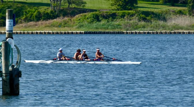 Scene Around: RFH Rowing the Boat Offshore