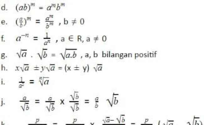 Kumpulan Rumus Matematika Smp Kelas 8 Semester 2 Trust Me G Cute766