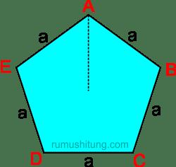 rumus segi lima