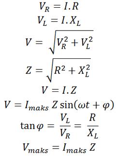 rangkaian seri R dan L