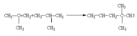 reaksi alkilasi isobutana menjadi isooktana