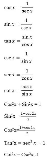 Rumus Cos 2x : rumus, Rumus, Integral, Trigonometri, RumusHitung.Com