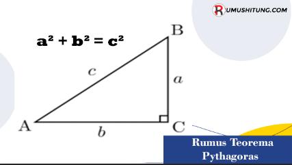 Rumus Teorema Pythagoras Segitiga Siku-Siku