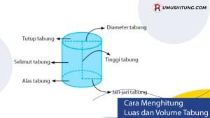Cara Mudah Menghitung Luas dan Volume Tabung