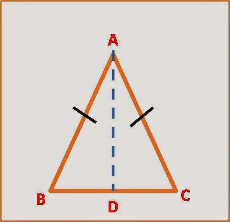 rumus segitiga sama kaki