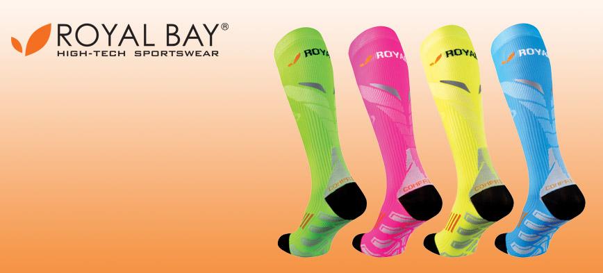 SOUTĚŽ o kompresní podkolenky ROYAL BAY Neon 2.0