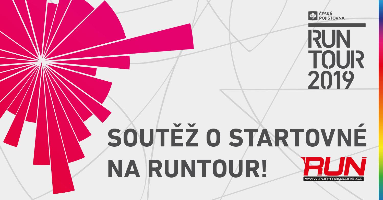 SOUTĚŽ o startovné na RunTour