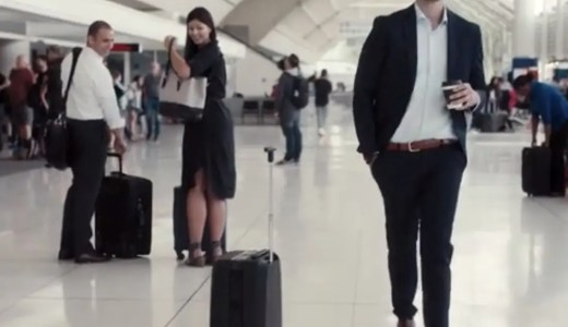 自動追尾するスーツケース!使ってみたいっ!
