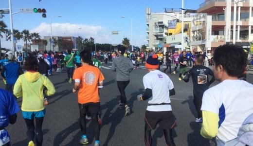旅ラン10マイル、湘南藤沢市民マラソンレポ。初心者ランナーにおすすめ!